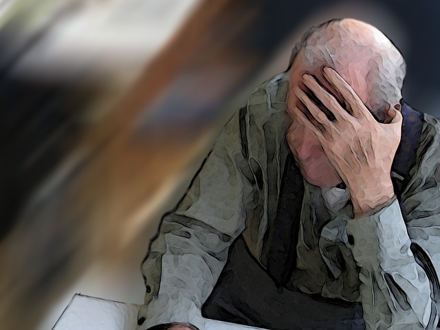 confused older man: Is it Alzheimer's or Normal Aging?